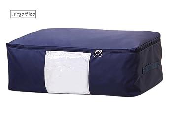 evst ropa debajo de la cama bolsa de almacenamiento, Oxford gamuza de cuadros bolsa de almacenamiento