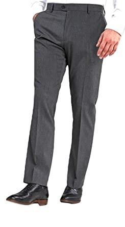 Classic Collection - Pantalón de Traje - Anchos - para Hombre Gris ...