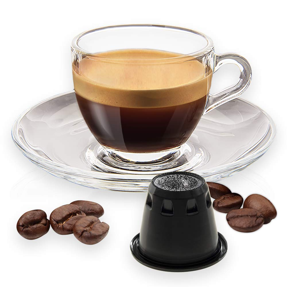 Note DEspresso Arabica Kaffeekapseln kompatibel mit Nespresso 5,6/g x 100 Kapseln