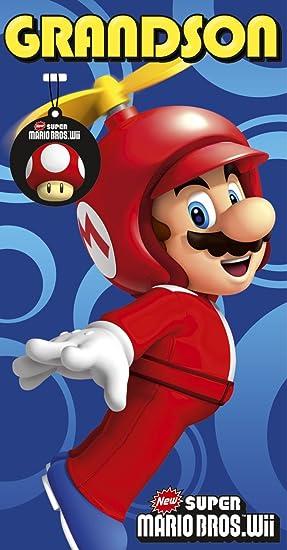 Carte Anniversaire Mario Amazon Fr Jeux Et Jouets