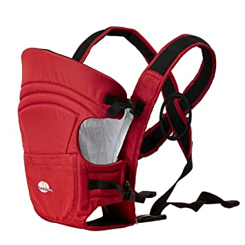 4a0cde8ff03 Amazon.com   Dardara Soft Structure Breathable Baby Carrier (Red)   Baby