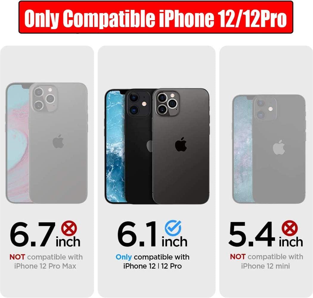 NEWDERY 4800mAh Funda Bater/ía para iPhone 12 Pro MAX Funda Cargador Portatil para iPhone 12 Pro MAX Bater/ía Externa Recargable Carcasa Bater/ía