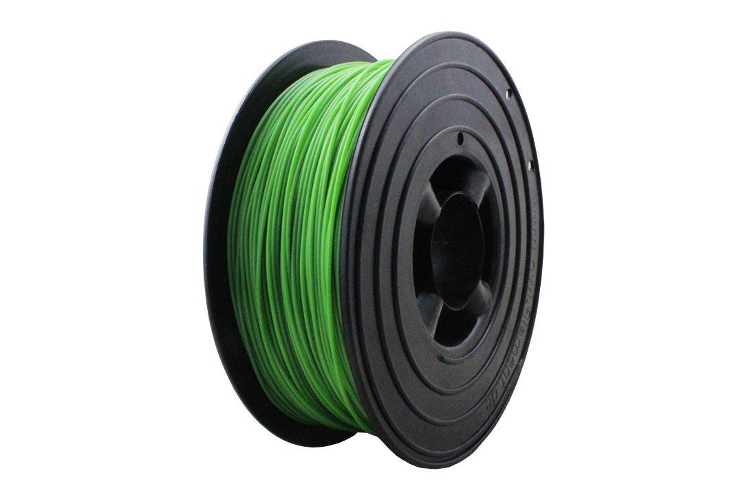 3D Filament 1kg B-Ware Filament Rolle in verschiedenen Farben Rot Gold Silber Grün Blau Braun Lila Violett Beige Transparent Gelb Orange Schwarz Weiß (Gras-Grün (B-Ware))