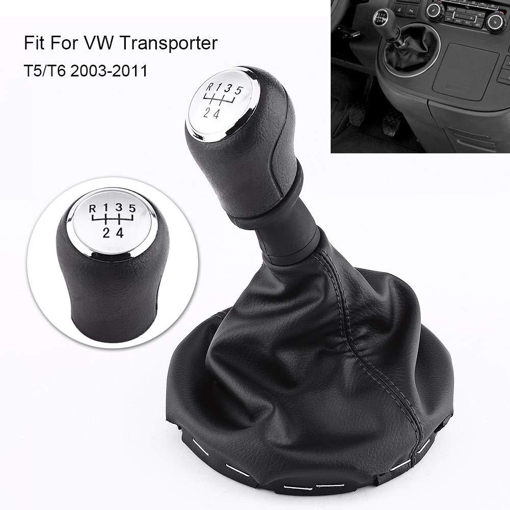 2003-2011 T6 Gaiter Schaltknauf,Auto Schaltknauf Schalthebel Gaiter Boot Kit f/ür Transporter T5