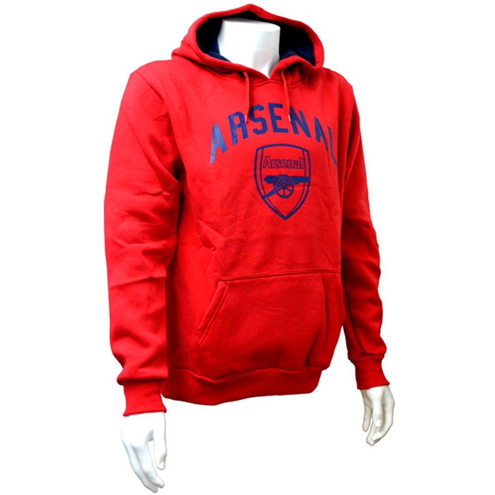 Arsenal F.C.Herren Kapuzenpullover Rot Rot