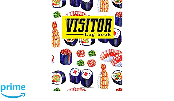 Amazon Visitor Log Book Guest Books For Visitors Visitor Sign