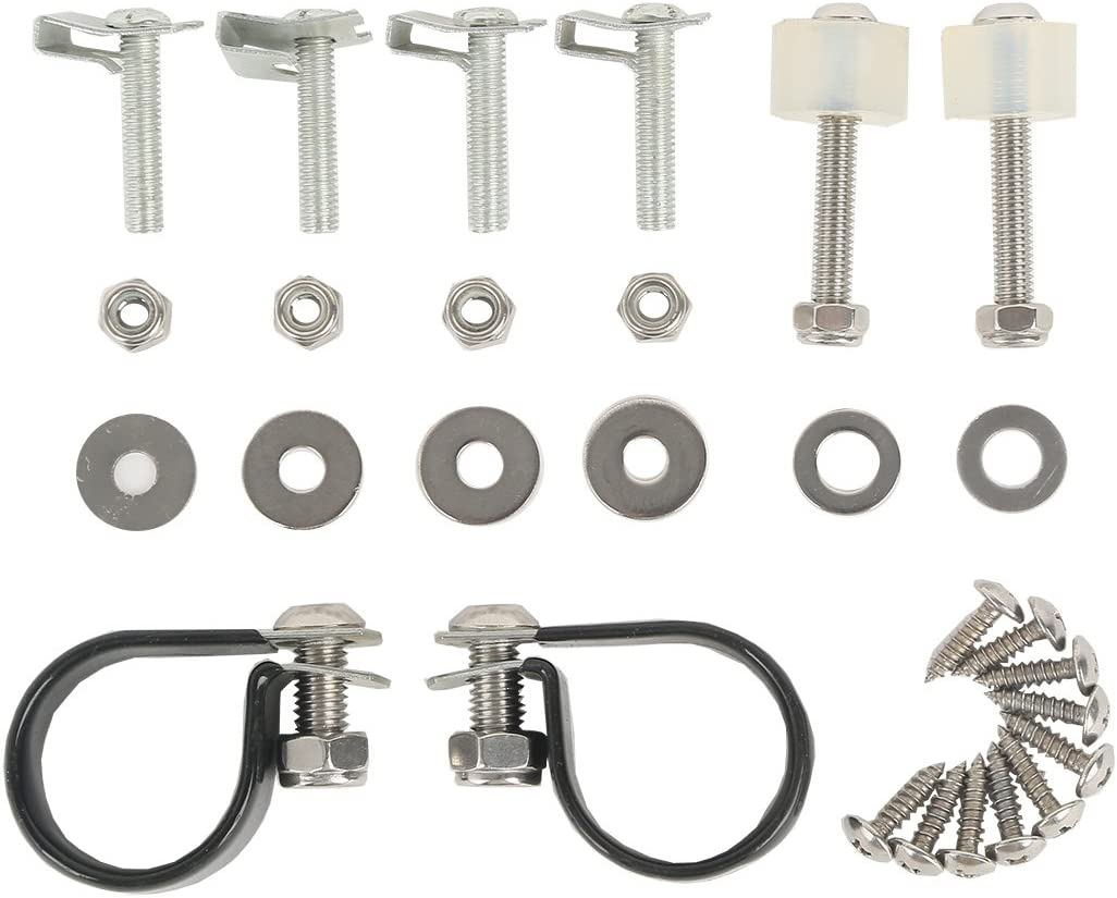 TCT-MT Lower Vented Fairings Mount hardware Kit Clamps Clips 83 fit For Harley Touring