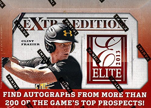 2013 Panini Elite Extra Edition Baseball Hobby Box (Elite Basketball Card Box)