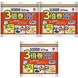 【まとめ買い】スコッティファイン 3倍巻き キッチンタオル 2ロール【×3セット】