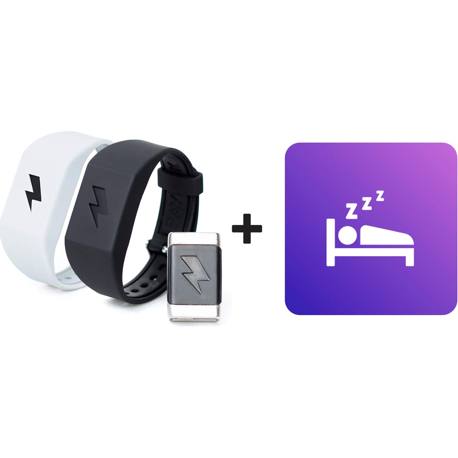 Pavlok Shock Clock Wake Up Trainer with Additional Silicone Band (White) and Exclusive Habit Change eBook - Wearable Smart Alarm Clock - Never Hit Snooze Again by Pavlok (Image #3)