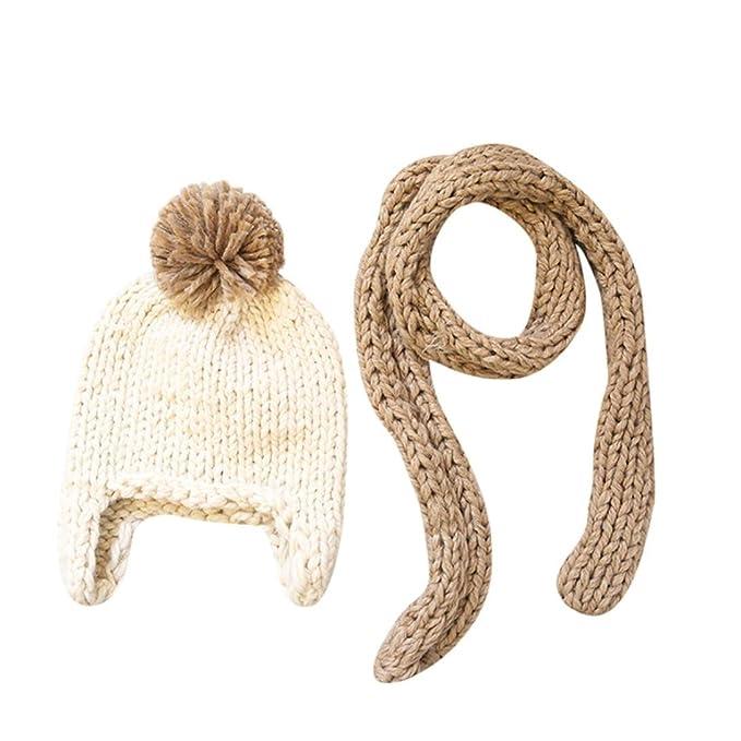POachers Sciarpa per berretto a maglia all'uncinetto per berretto invernale  lavorato a maglia all'uncinetto (A): Amazon.it: Abbigliamento