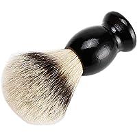 Men Shaving Brush Wood Handle Mixed Horse Hair Shaving Brush Black Handle