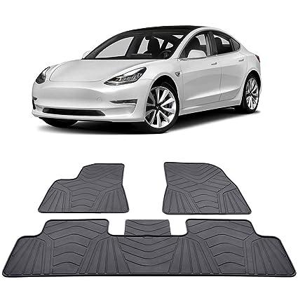 BougeRV para Tesla Modelo 3 Alfombrillas Interiores ...