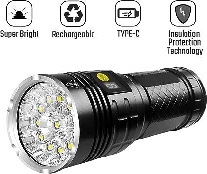 10000Lumen Ultrafire T6 LED Rechargeable Flashlight Torch Super Bright Light Hot