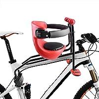 WZOED Kindersitz, Fahrradsitz Kind Modischer Abnehmbarer Fahrrad-Vordersitz Kindersitz Pedal mit Griff für Herrenfahrrädern und Damenrädern