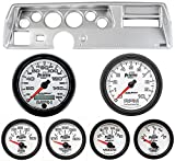 Classic Dash 104701112 Chevelle SS Silver Dash Carrier Panel w/ Auto Meter Phantom II Gauges TR