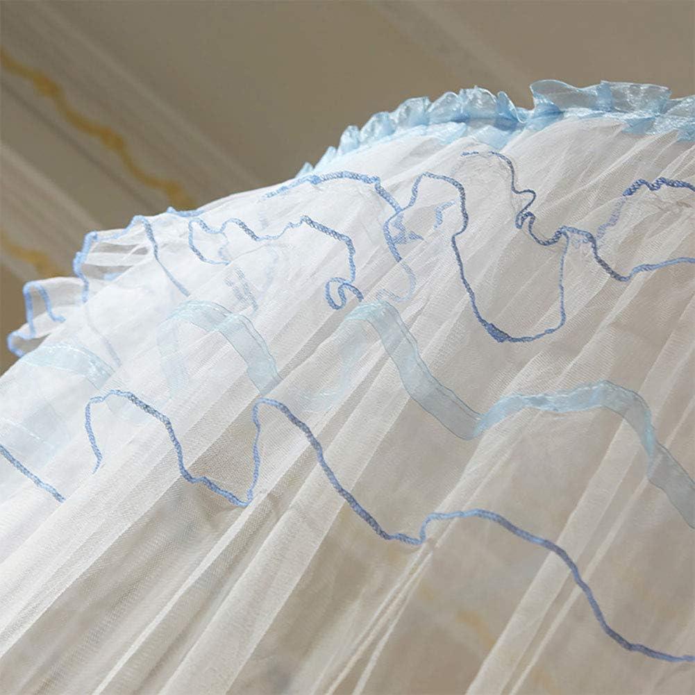 120 1100cm Netz f/ür Betthimmel 360 /° Rundhimmel Design Faltbares Moskitonetz f/ür Schlafzimmer Beige 270 Aufee Bett Moskitonetz