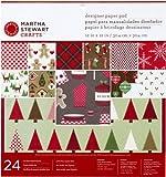 Martha Stewart Crafts Cottage Christmas Designer Paper Pad