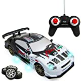 Liberty Imports Super Fast Drift King R/C Sports Racing Car Remote Control Drifting Race Car 1:24 + Headlights…