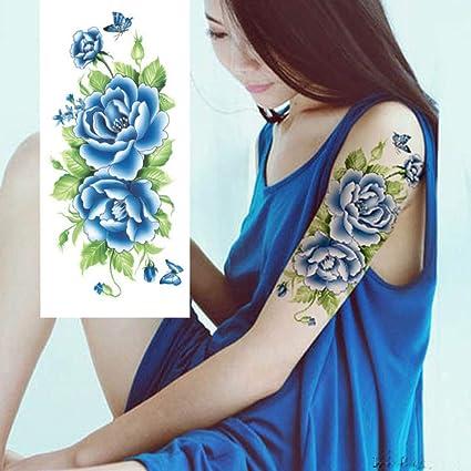 7pcs Barato tatuaje falso de transferencia del tatuaje del hombro ...