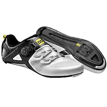 Mavic Cosmic Ultimate - Zapatillas de carretera - blanco/negro Talla 44 2/3 2015: Amazon.es: Zapatos y complementos
