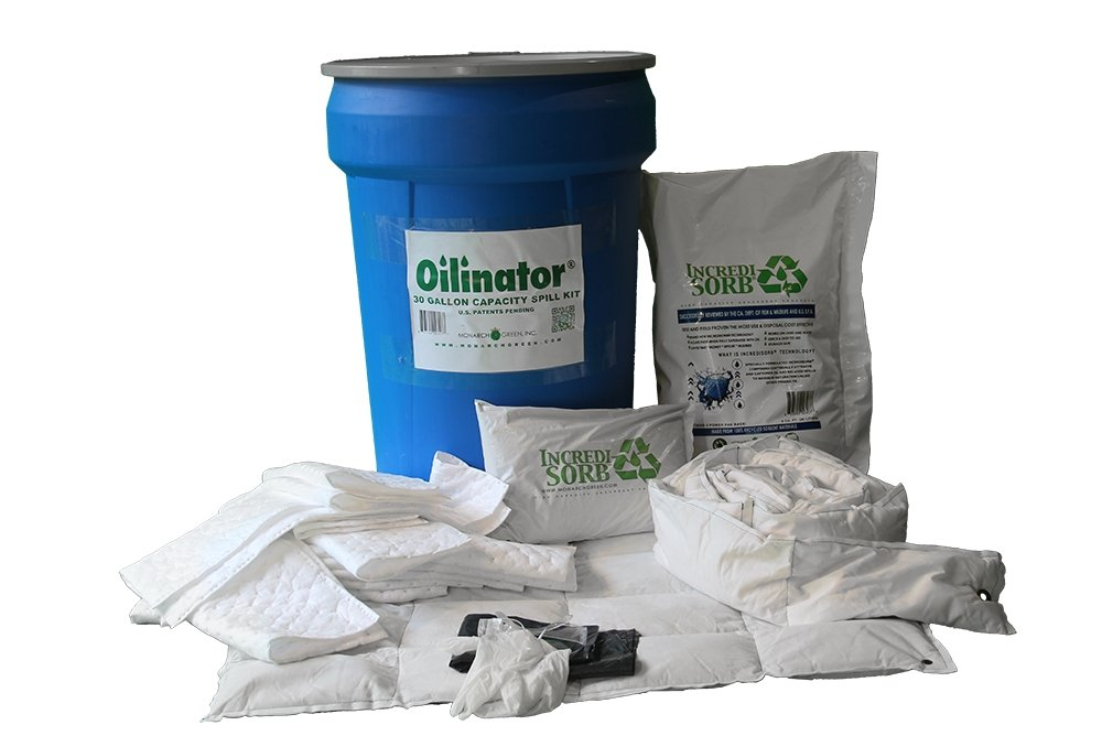 Oilinator OSK30GAL 30 gal. Oil Spill Response Kit by Oilinator