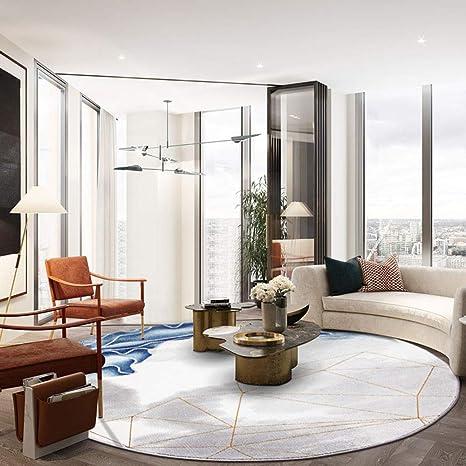 Amazon.com: Round Carpet, Living Room Coffee Table Mat ...