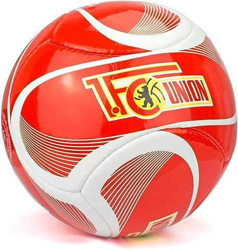 1. FC UNION Berlin - Balón de fútbol, Color Rojo y Blanco: Amazon ...
