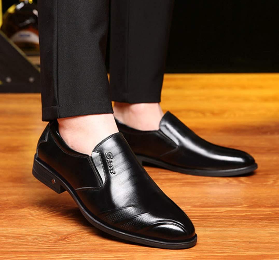 Herren Kleid Freizeitschuhe Faule Schuhe Schuhe Schuhe Liebe Mode Und Bequeme (Farbe   Schwarz, Größe   43EU) 935f28