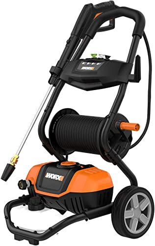 Small Pressure Boat Washer with Rolling Cart [Worx] Picture