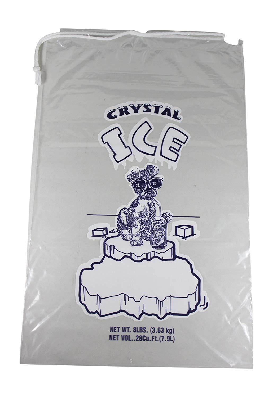 Amazon.com: Pinnacle Mercantile 8 lb. Bolsas de hielo con ...