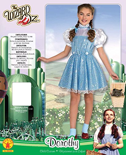 Wizard of Oz Dorothy Sequin Costume, Toddler 1-2 (75th Anniversary Edition) - http://coolthings.us