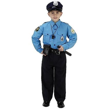 Amazon.com: JR. Policía Traje Niño Disfraz – Grande: Toys ...