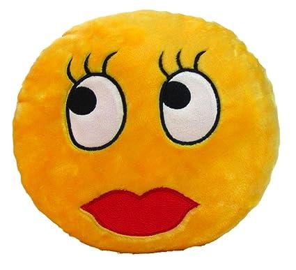 buy tickles stuffed soft batting eyelashes smiley cushion toy pillow