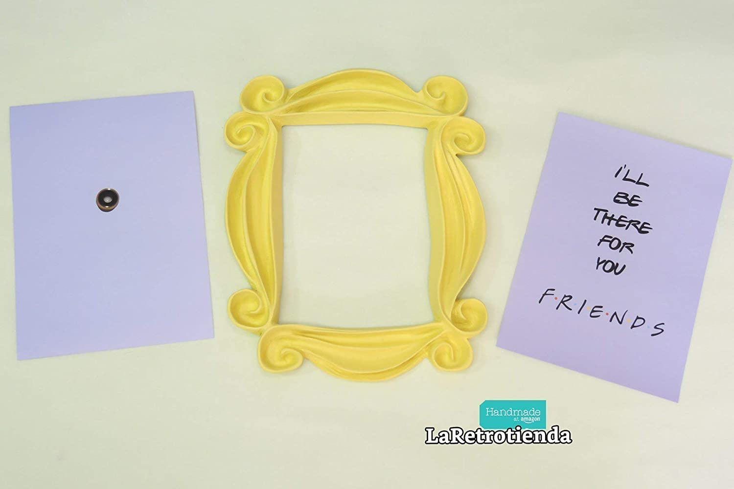 Friends Tv Show Yellow Peephole Frame Monicas Door Replica