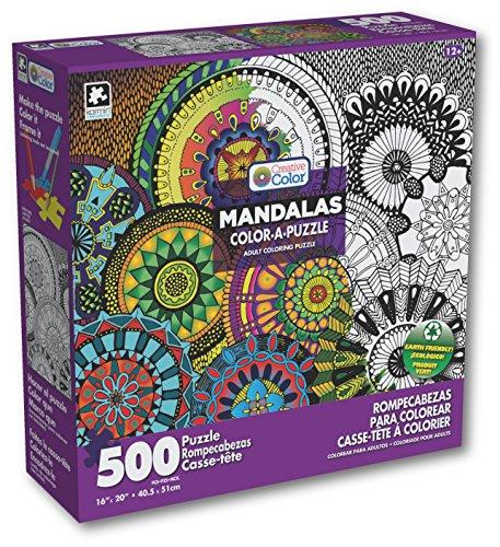 Amazoncom Karmin International Color A Puzzle Mandalas Chakras - Mandalas-en-color