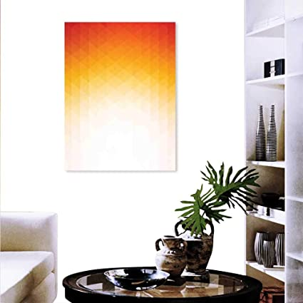 Amazon Com Anyangeight Geometric Wall Paintings Ombre Geometric