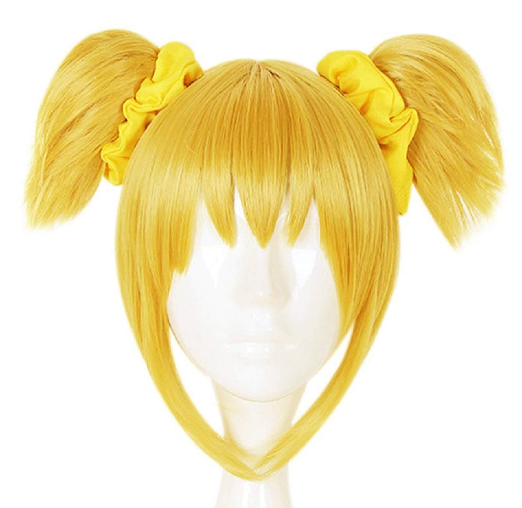 Anime Wigs Japanese Popuko Pipimi Costume Cosplay Cons (F, Popuko) Convention Cosplay Expo Costume Party Goods Girl Lolita Maid Pipimi Popuko Work-Space
