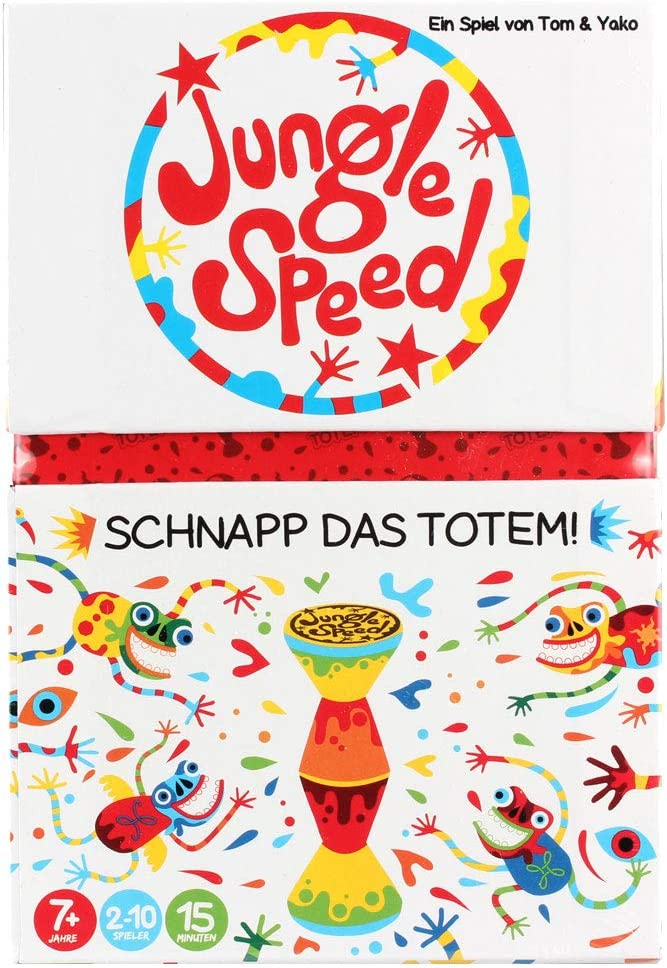 Asmodee GmbH ASMD0016 Jungle Speed SKWAK-Edition- Silla de Paseo ...