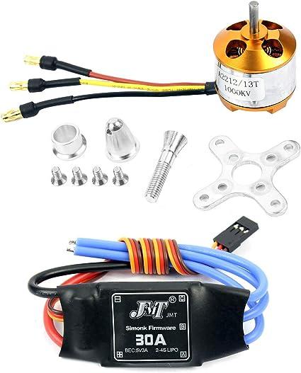 30amp  speed controller new in packet A2212 KV1000 Brushless Outrunner Motor