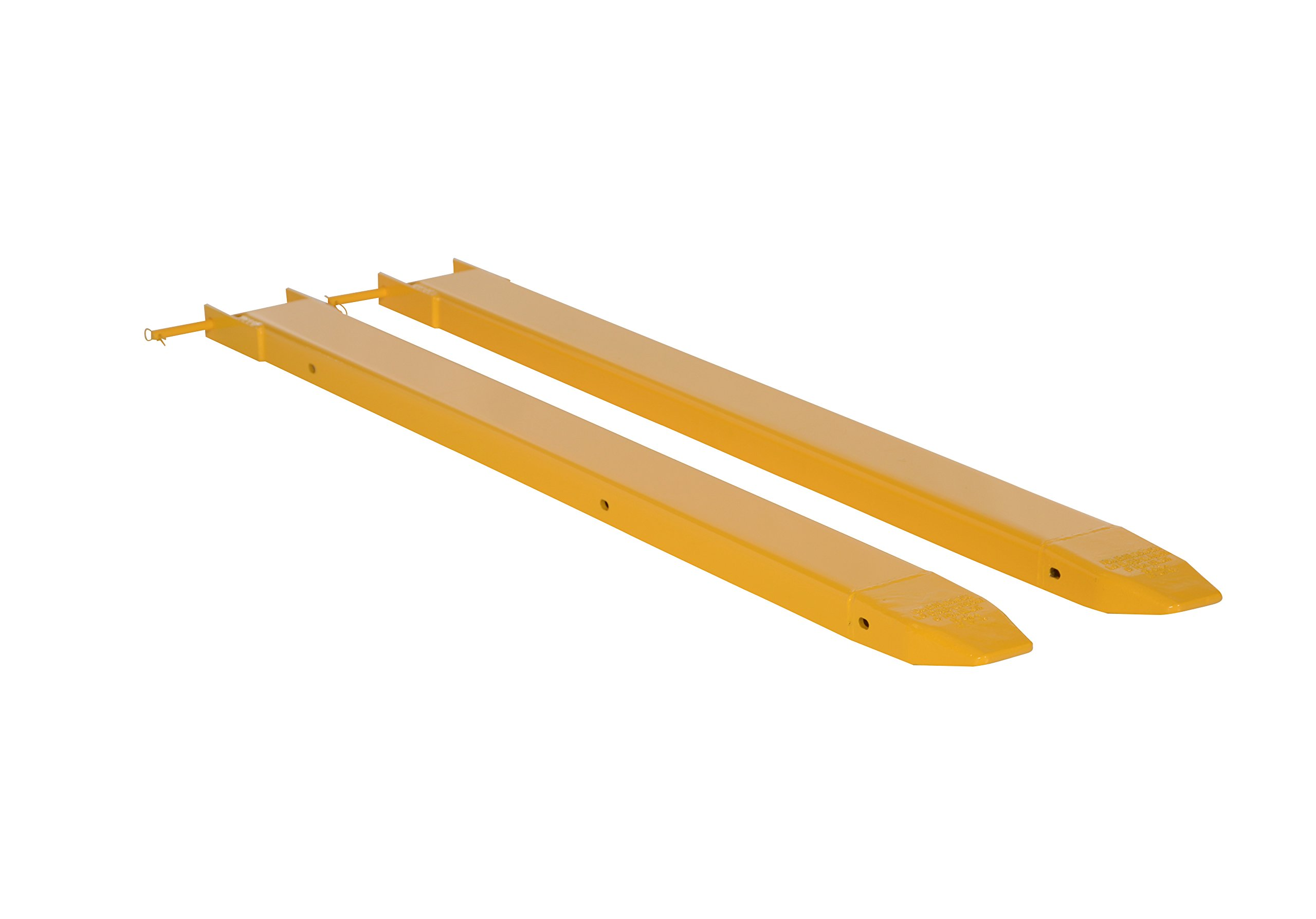 Vestil Fork Extensions Pin Style 48L X 4W in, Pair