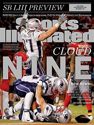 Sports Illustrated Magazine (January 28, 2019 - February 4, 2019) Cloud Nine: Tom Brady and Bill Belichick Reach Their 9th Super Bowl -