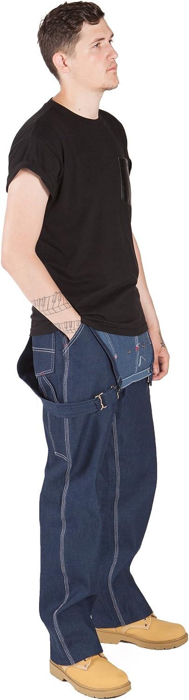 Denim Latzhose Indigoblau Lot966 jeanslatzhose jeans arbeit latz Roundhouse