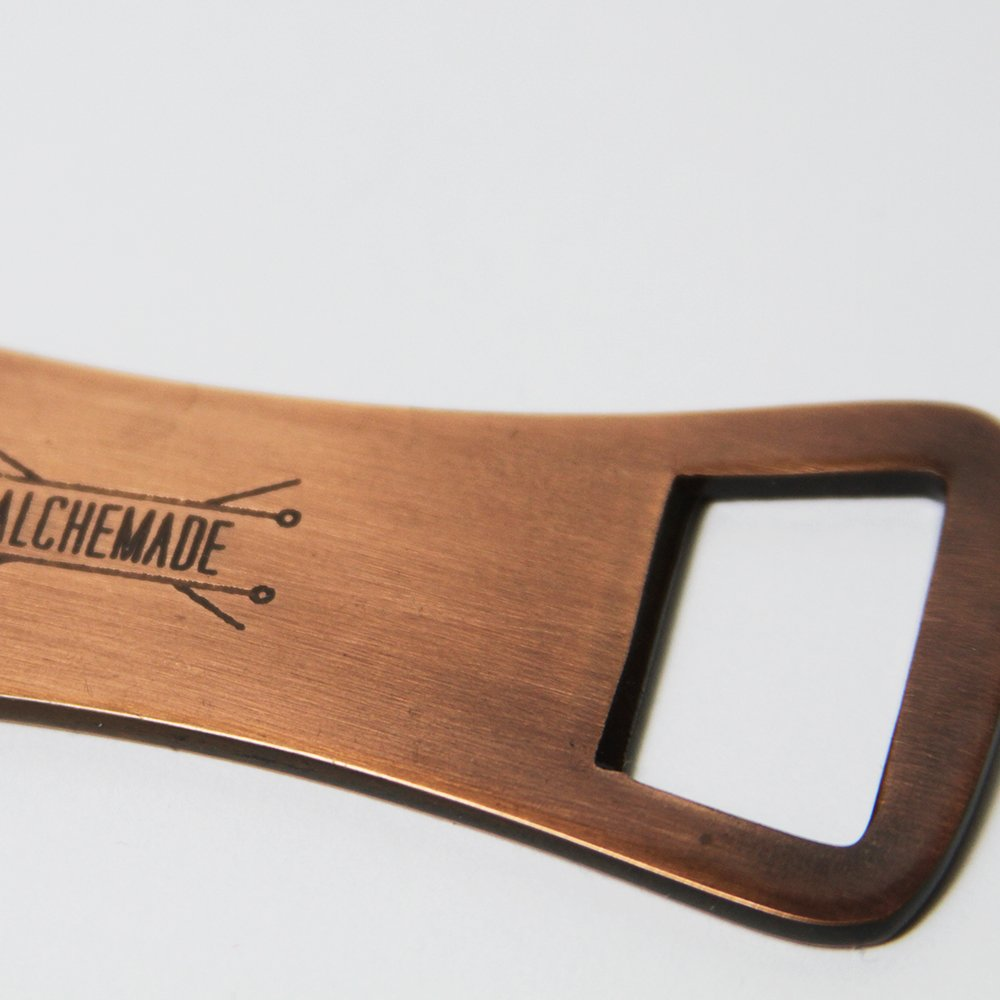 Professional Grade Copper Bottle Opener by Alchemade 2701