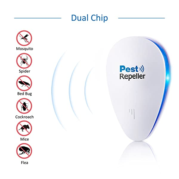 Geekers Ultrasonic Pest Repeller