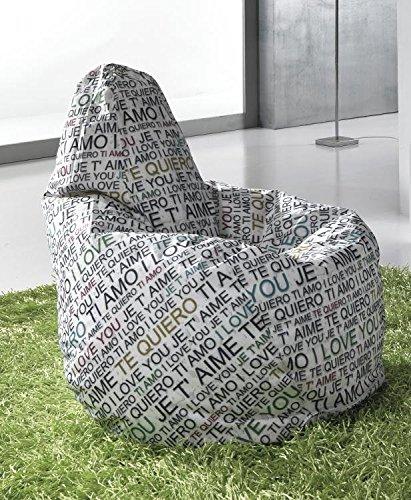 Idea Puf sillones a Saco, sillones Design: Amazon.es: Hogar