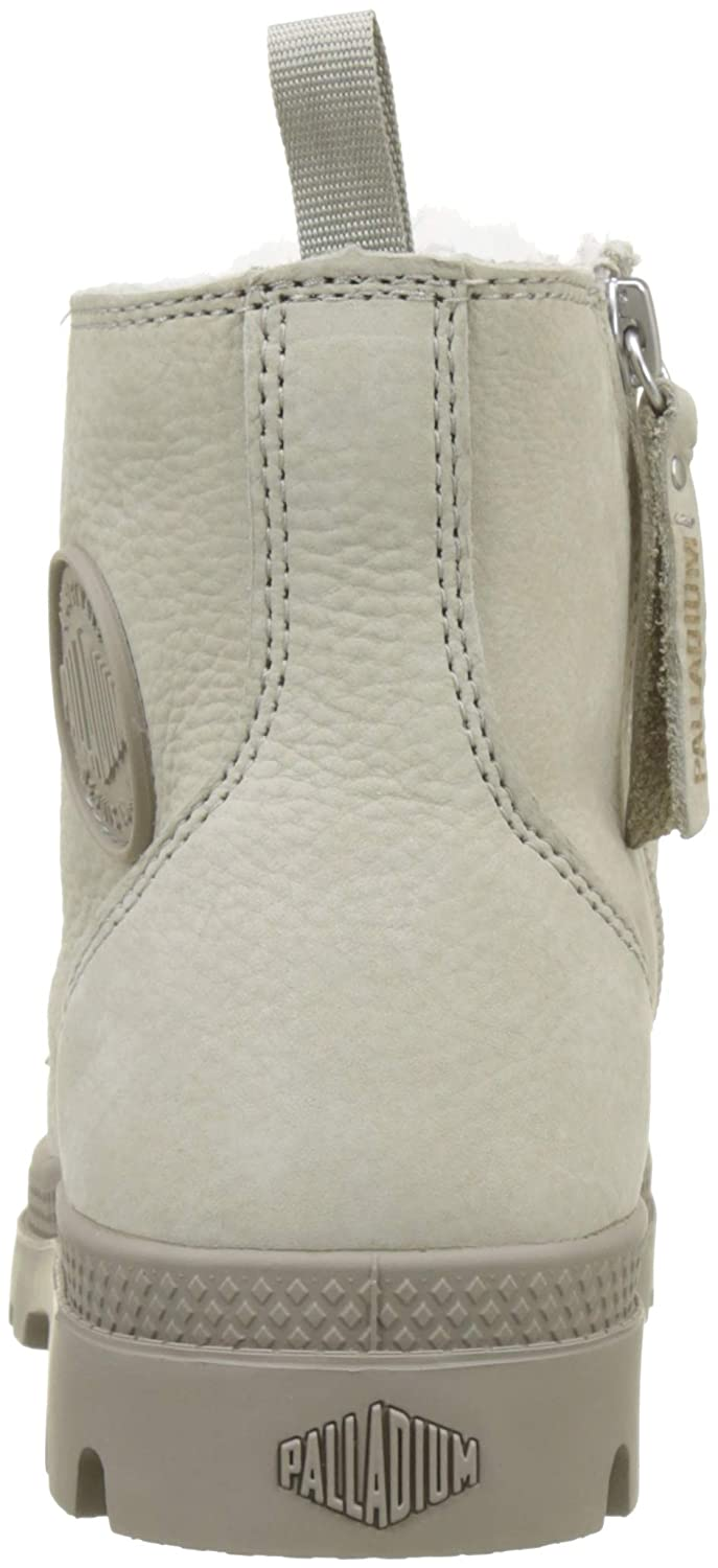 Palladium Damen Pampa Hi Zip WL Stiefeletten (Feather Elfenbein (Feather Stiefeletten Grau/Moonrock R09) d658ef