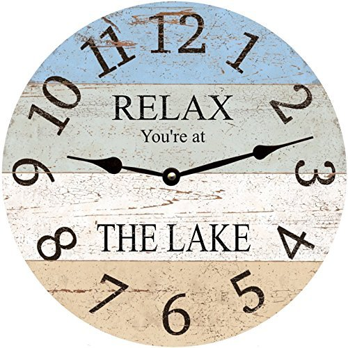 Personalized Lake Clock