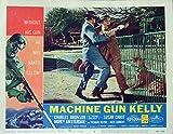 Machine Gun Kelly 1958 Authentic, Original Charles Bronson Gangster 11x14 Lobby Card #5 Movie Poster