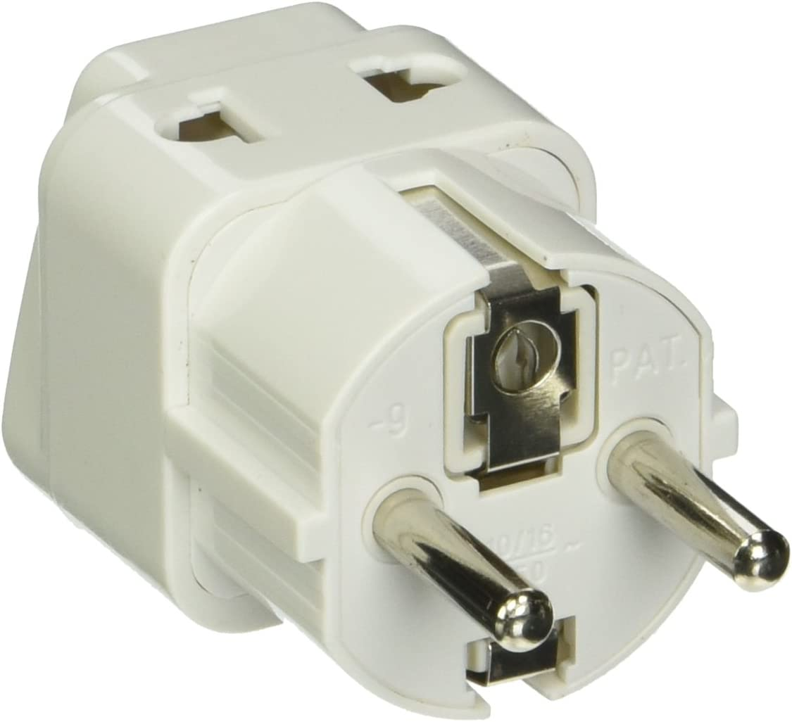 CKITZE BA-16AN Grounded Universal 2 in 1 Plug Adapter Type I for Australia New Zealand /& more CE Certified